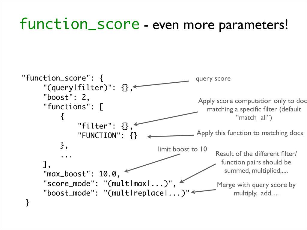 "function_score - even more parameters! ""functio..."