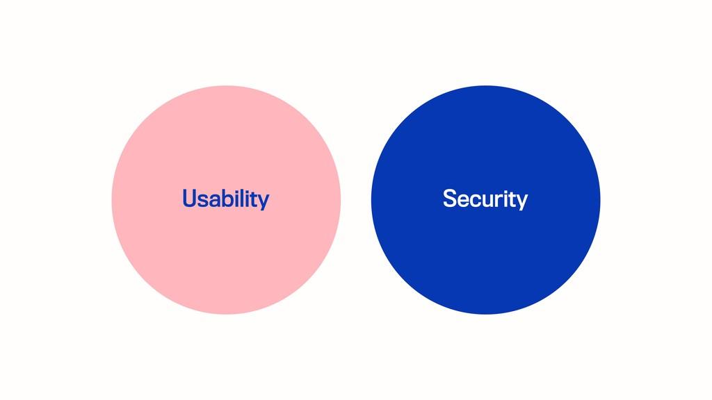 Usability Security