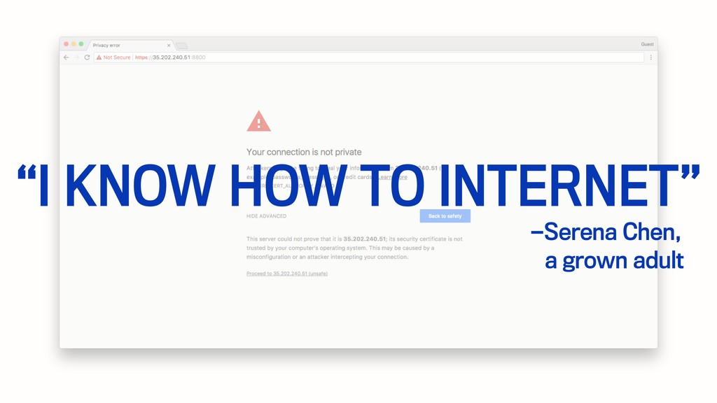 """—Serena Chen, """"I KNOW HOW TO INTERNET"""" a grown ..."""