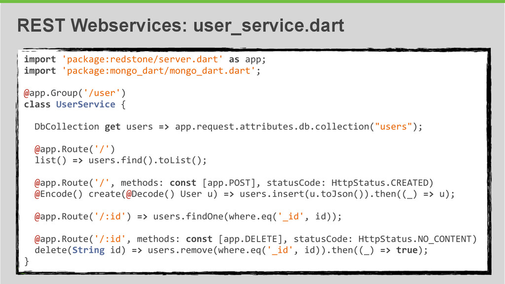34 REST Webservices: user_service.dart import...