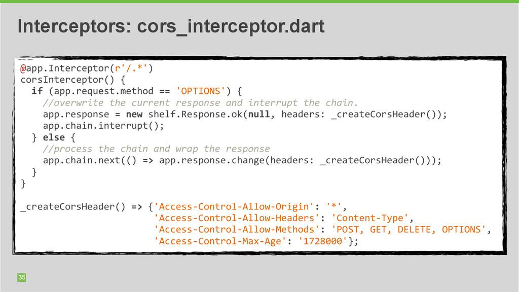 35 Interceptors: cors_interceptor.dart @app.Int...