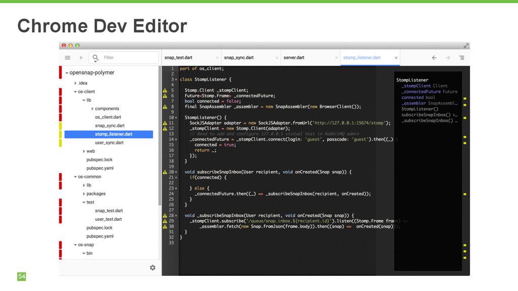 54 Chrome Dev Editor