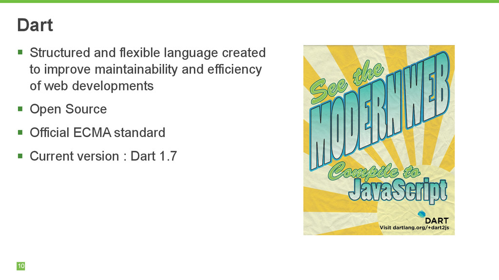 10 Dart § Structured and flexible language cre...