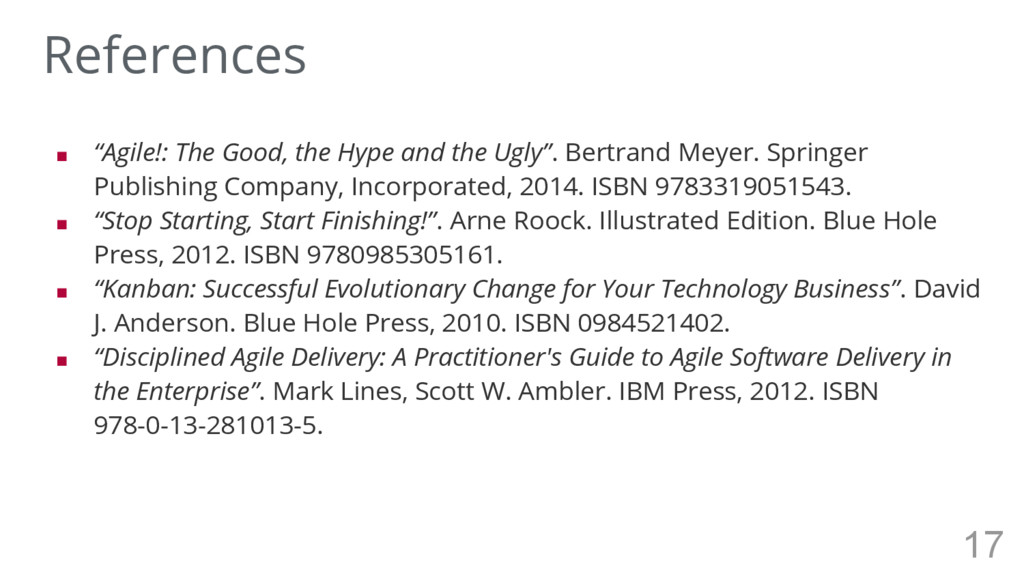 """■ """"Agile!: The Good, the Hype and the Ugly"""". Be..."""
