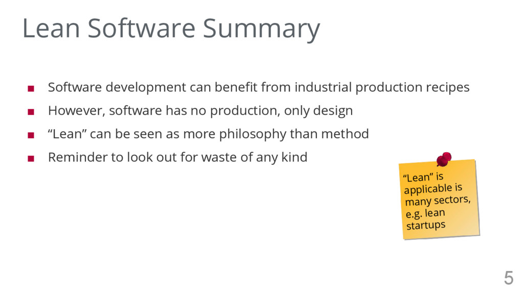 ■ Software development can benefit from industr...