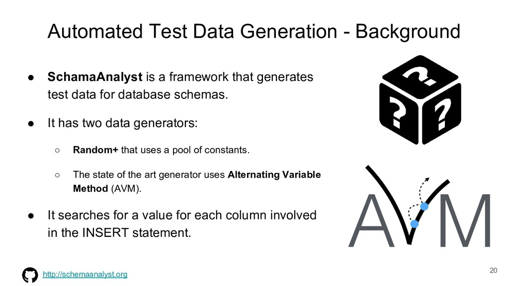 Automated Test Data Generation - Background ● S...