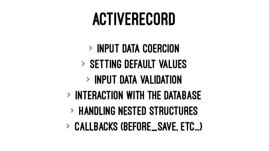 ACTIVERECORD > input data coercion > setting de...