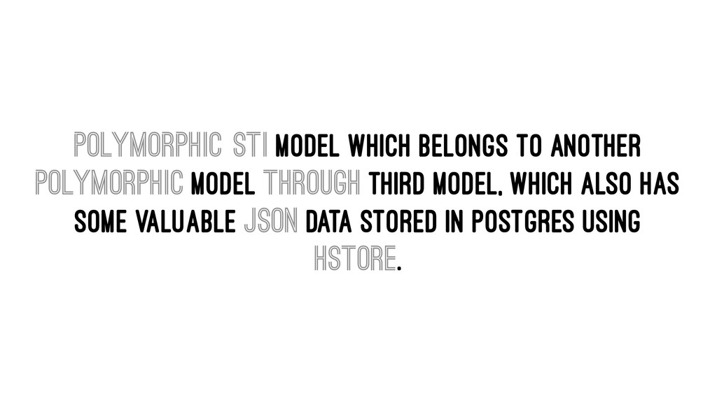 Polymorphic STI model which belongs to another ...