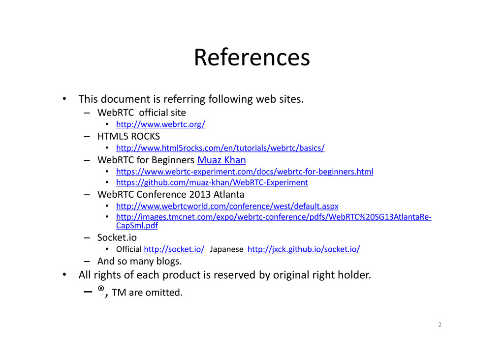 References • This document is referring followi...