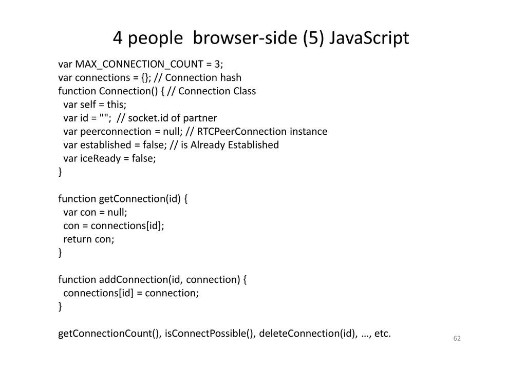 4 people browser-side (5) JavaScript 62 var MAX...