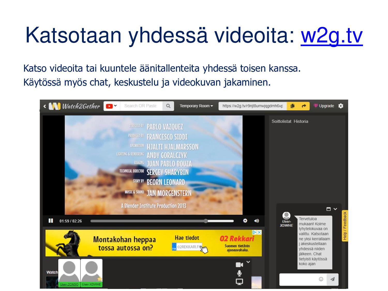Animaatioita pc-koneella • Vartissa valmista: t...
