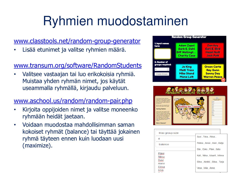 Lisää yhteiskirjoittamisen työkaluja www.writeu...