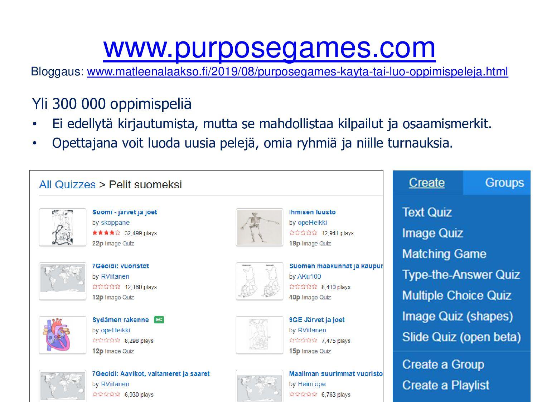 Tapaamisaikojen sopimiseen doodle.com Kirjautum...