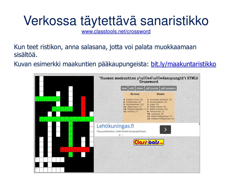 bubbl.us Toimii selaimella, myös mobiilisti. Il...