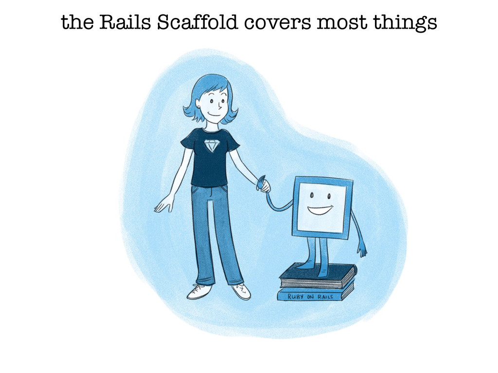 the Rails Scaffold covers most things