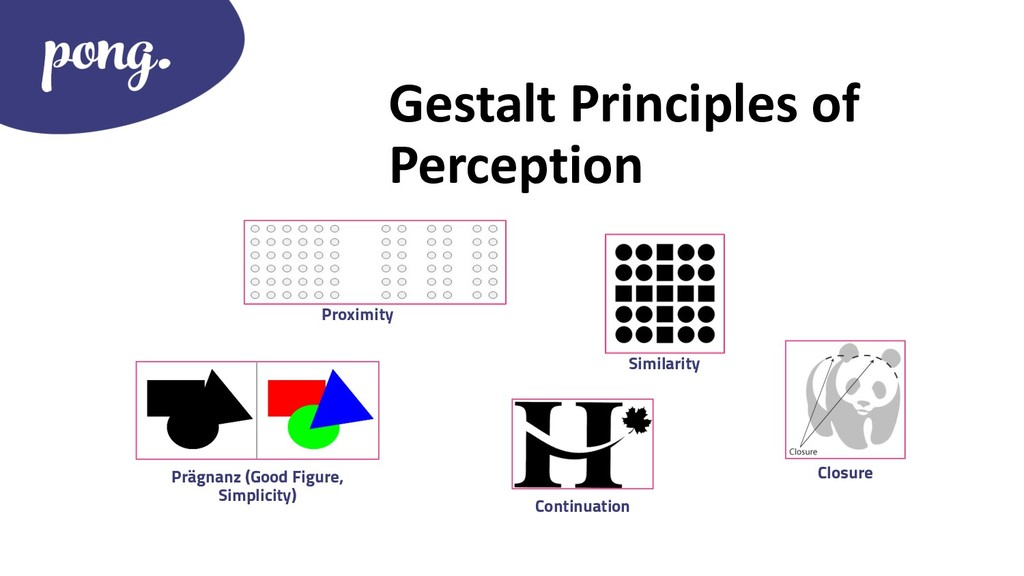 Gestalt Principles of Perception Closure Proxim...