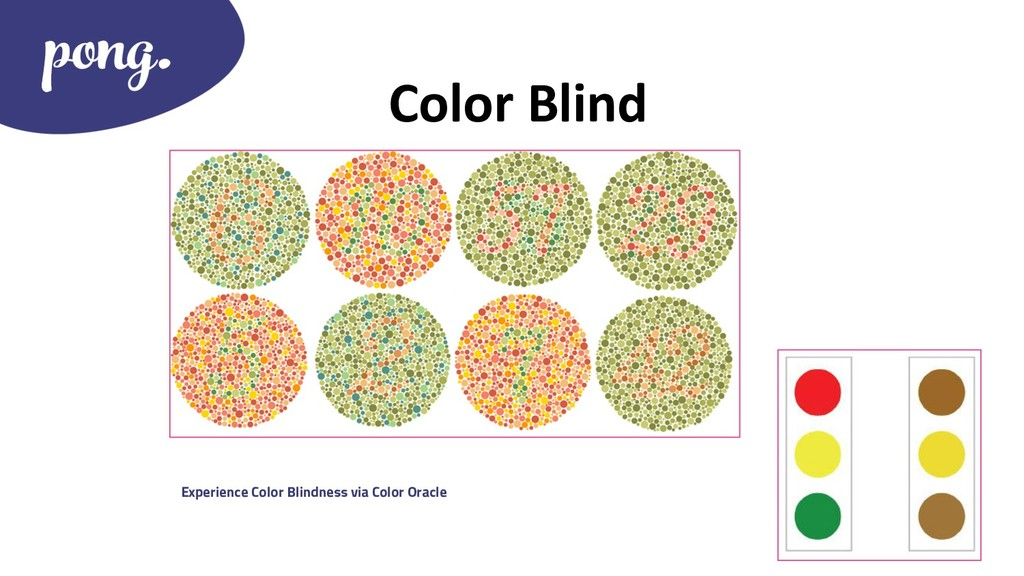 Color Blind Experience Color Blindness via Colo...