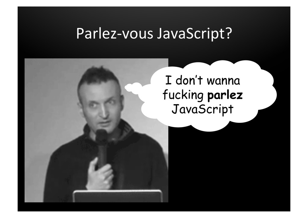 Parlez-­‐vous	