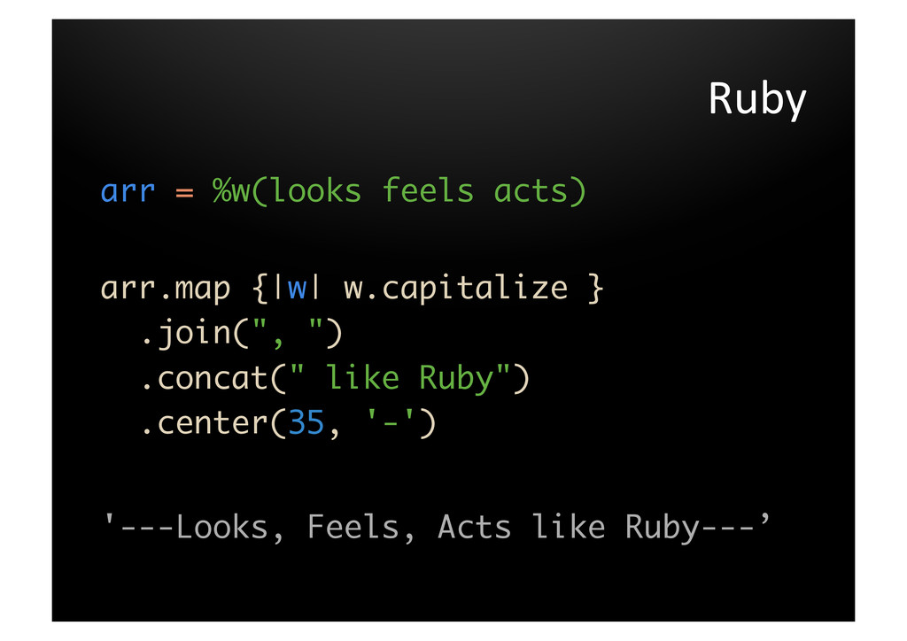 Ruby	