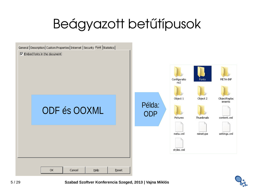 5 / 29 Szabad Szoftver Konferencia Szeged, 2013...