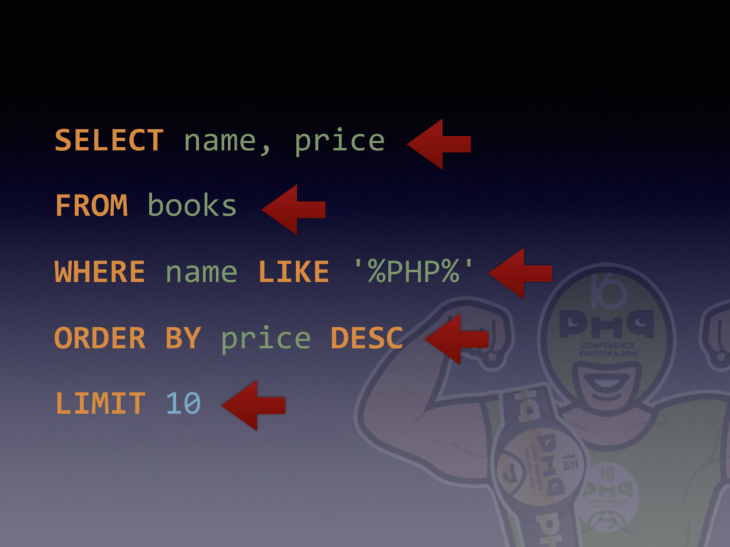SELECT name, price