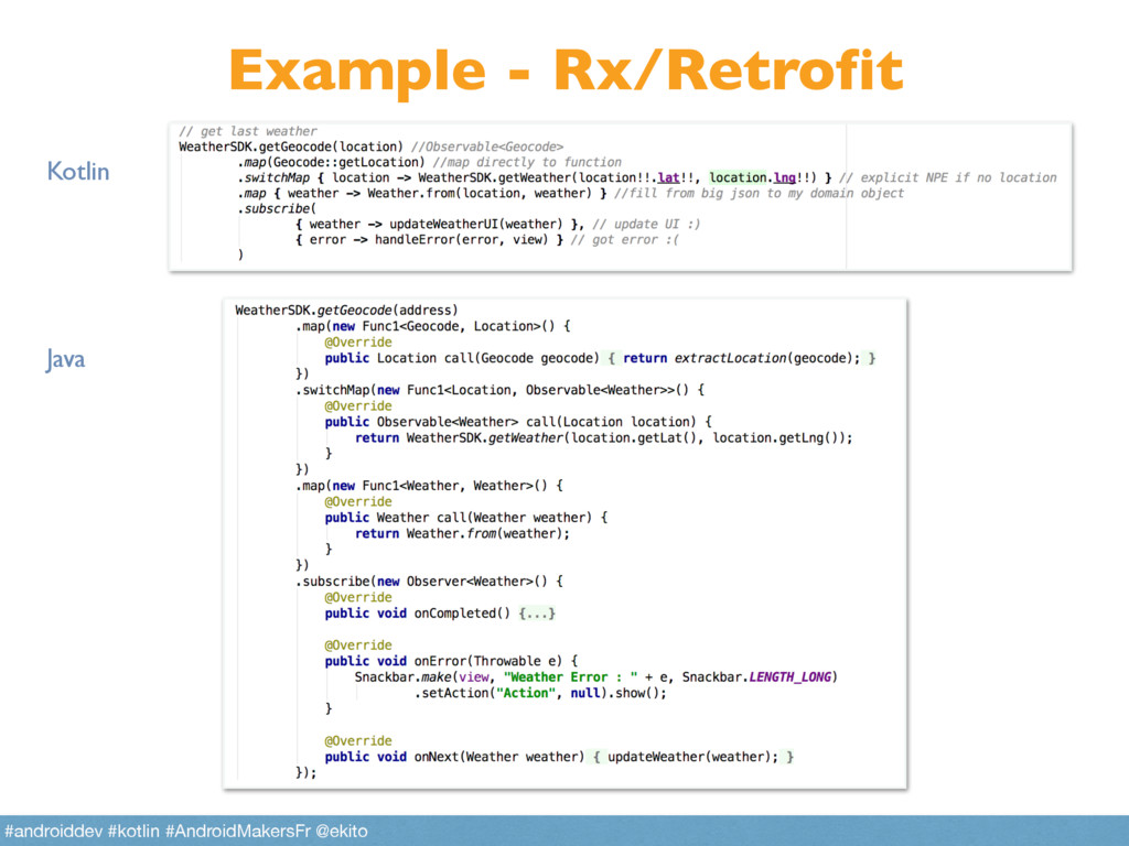 Example - Rx/Retrofit Kotlin Java #androiddev #...