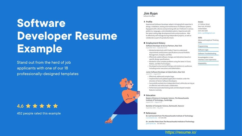 3 https://resume.io/