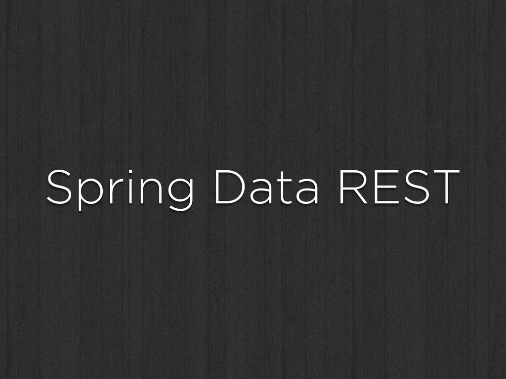 Spring Data REST