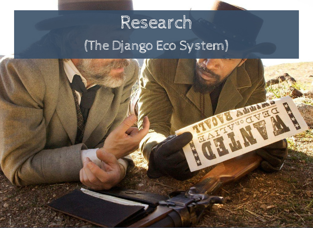 Research (The Django Eco System)