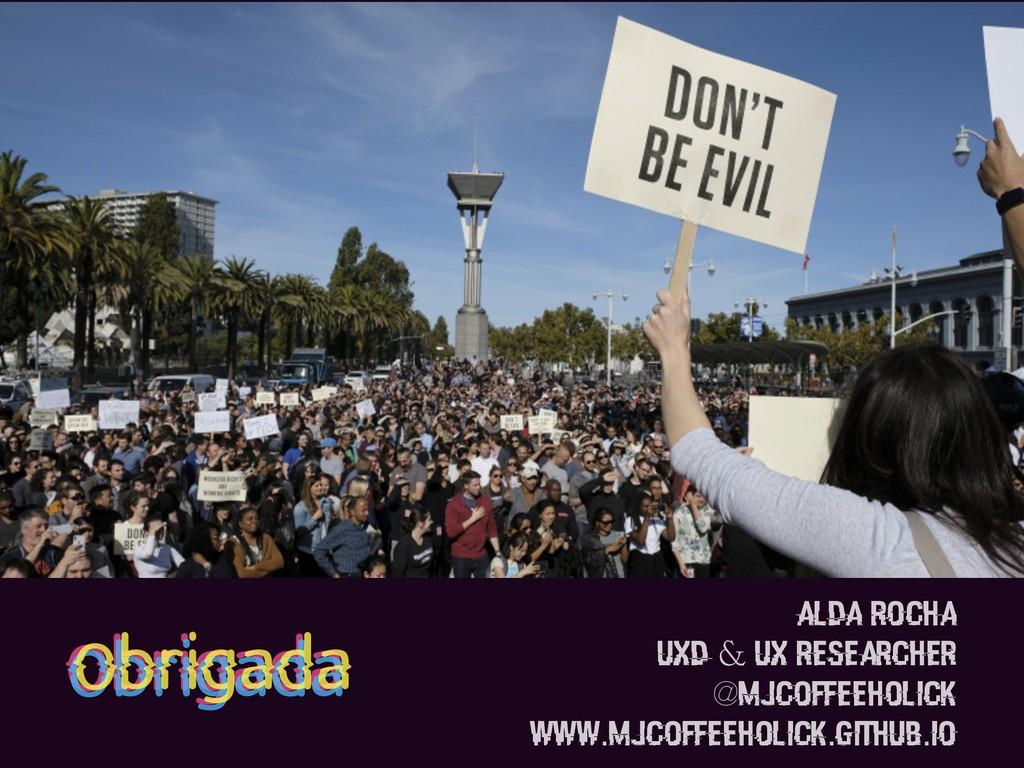 Alda Rocha UXD & UX Researcher @mjcoffeeholick ...