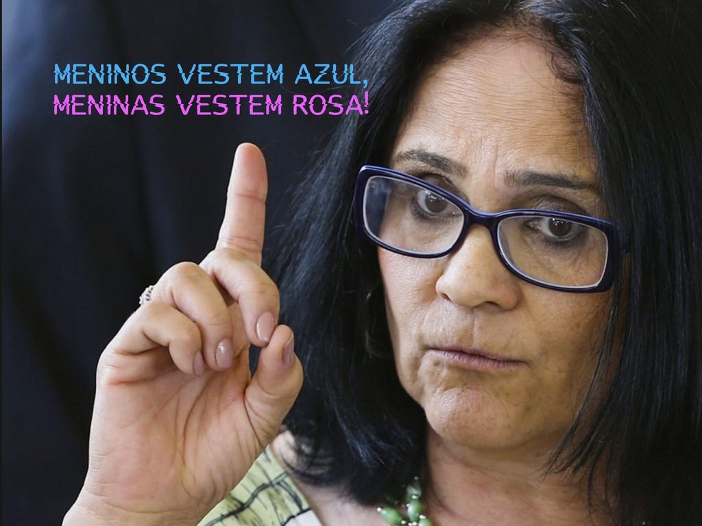 MENINOS VESTEM AZUL, MENINAS VESTEM ROSA!