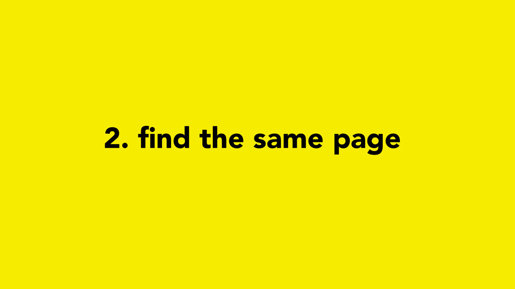 2. find the same page
