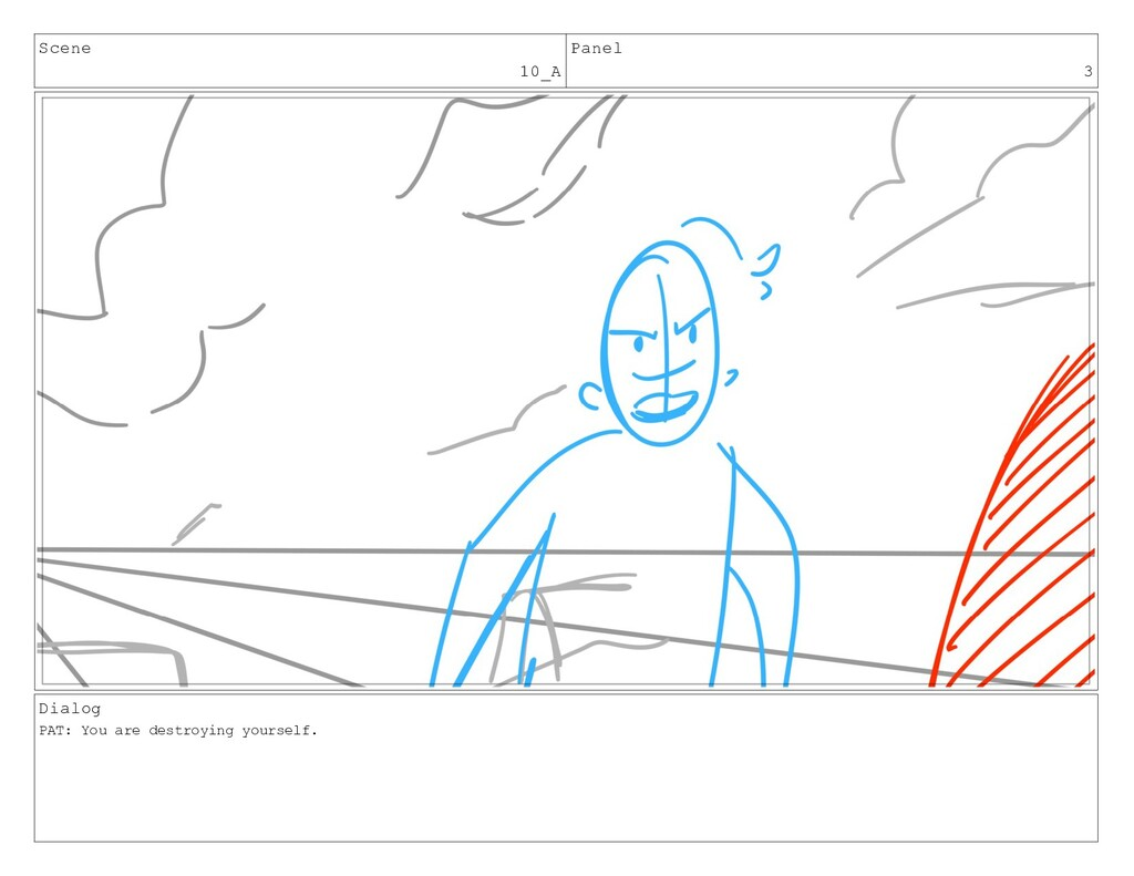 Scene 10_A Panel 3 Dialog PAT: You are destroyi...