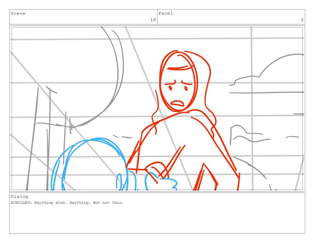 Scene 18 Panel 2 Dialog ACHILLES: Anything else...