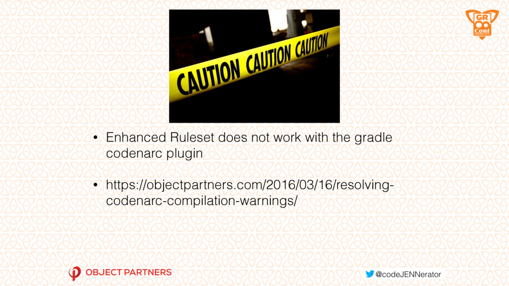 WARNING! • Enhanced Ruleset does not work with ...