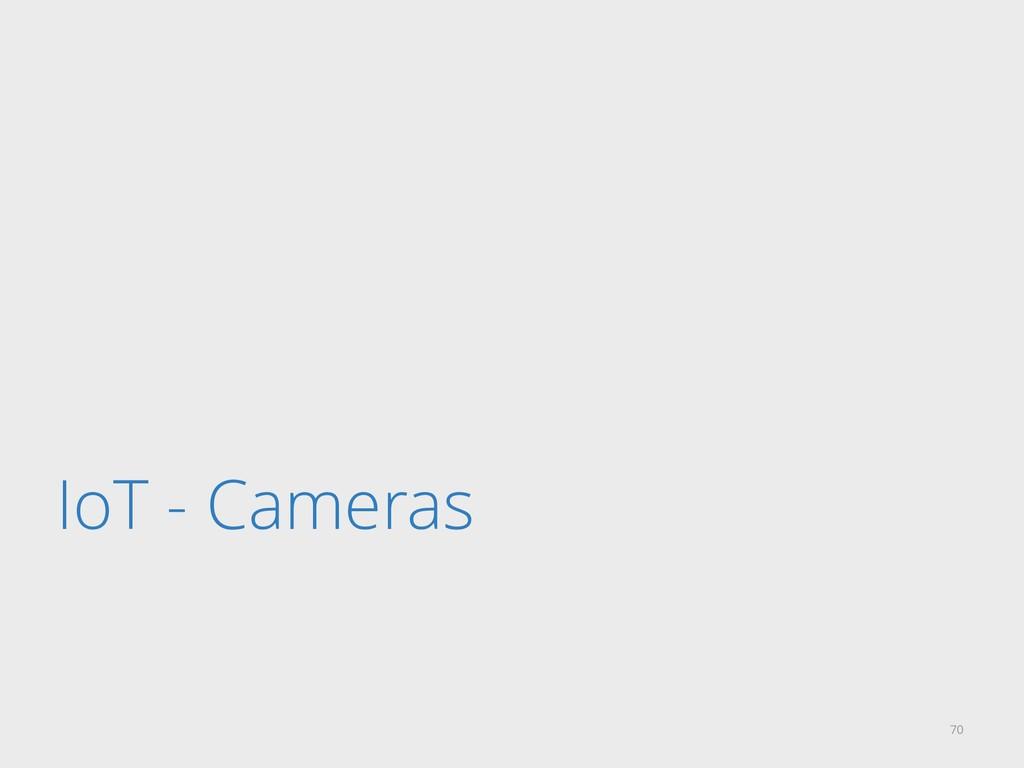 IoT - Cameras 70
