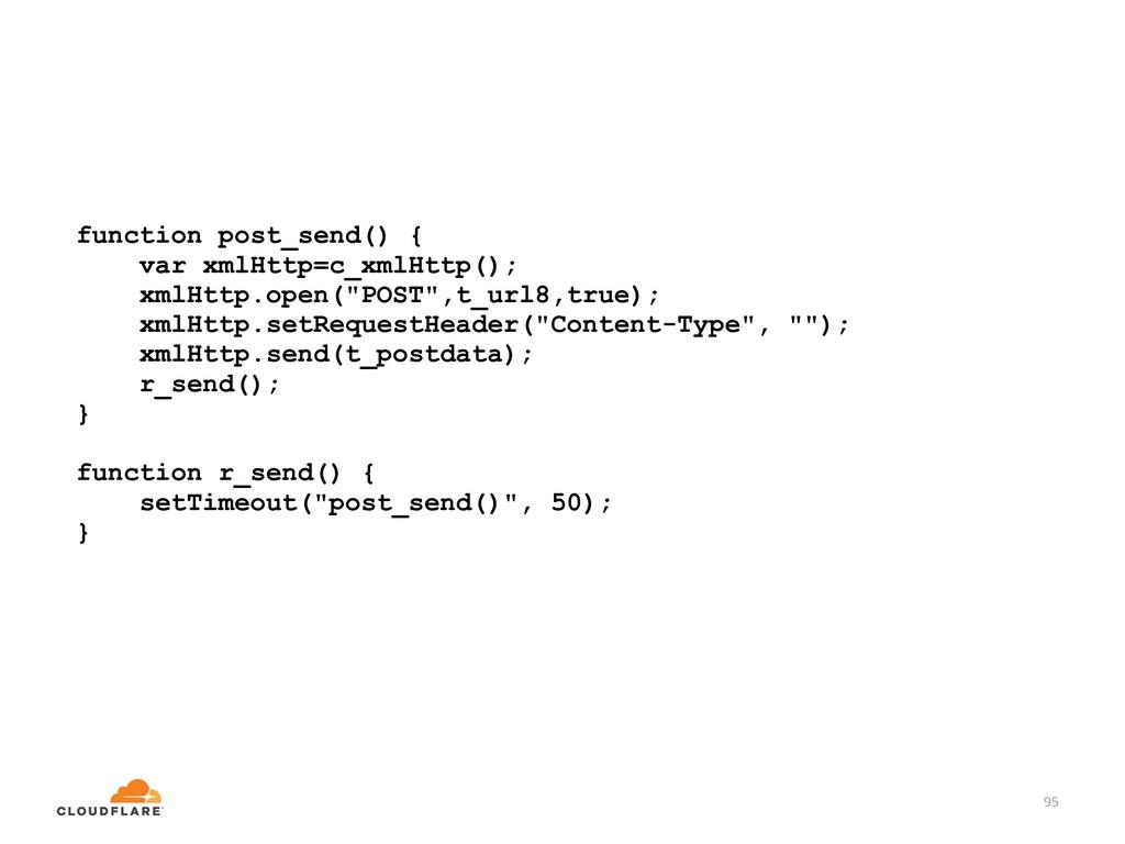 95 function post_send() { var xmlHttp=c_xmlHttp...