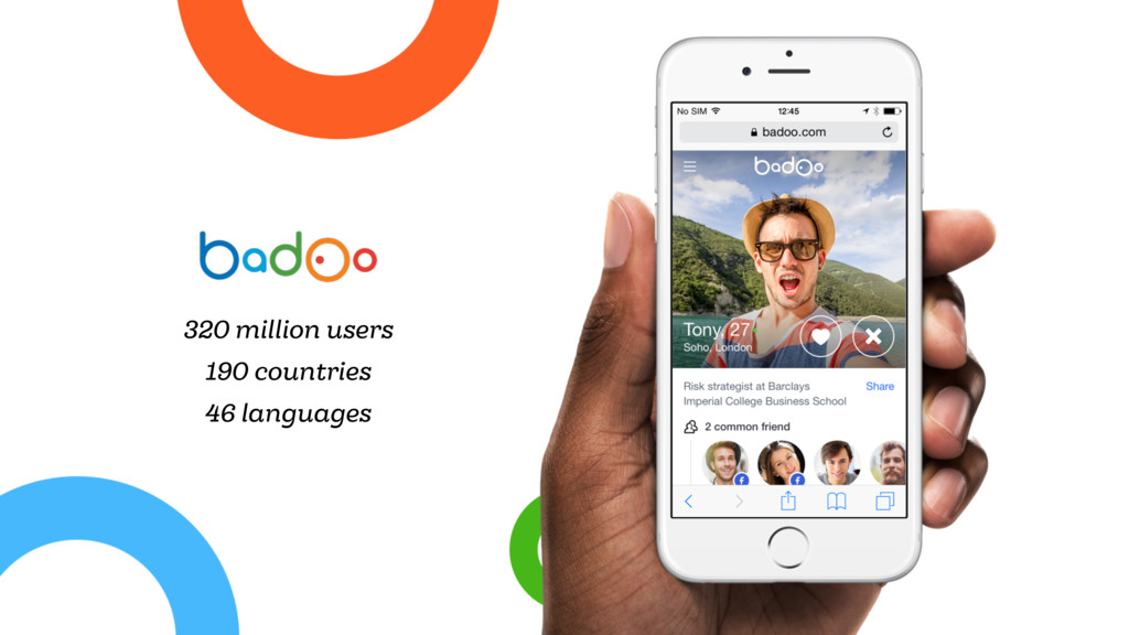 320 million users 190 countries 46 languages