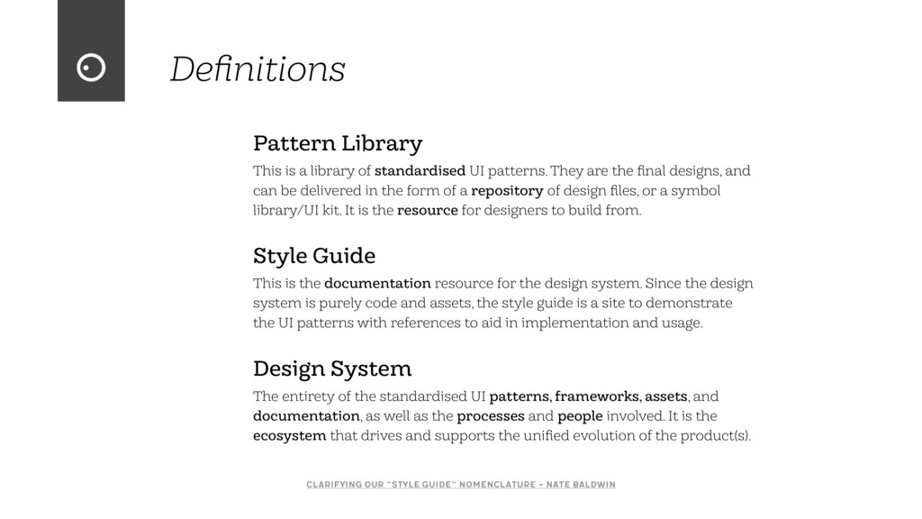 Pattern Library This is a library of standardis...