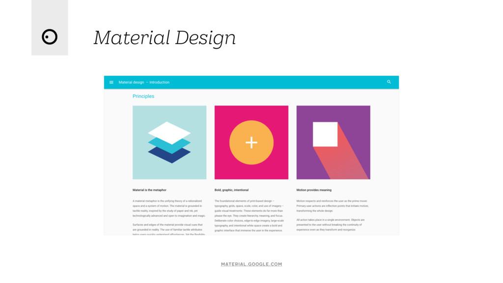 Material Design material.google.com