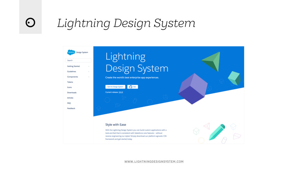 Lightning Design System www.lightningdesignsyst...