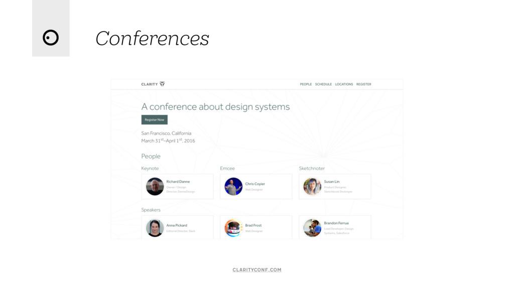 Conferences clarityconf.com