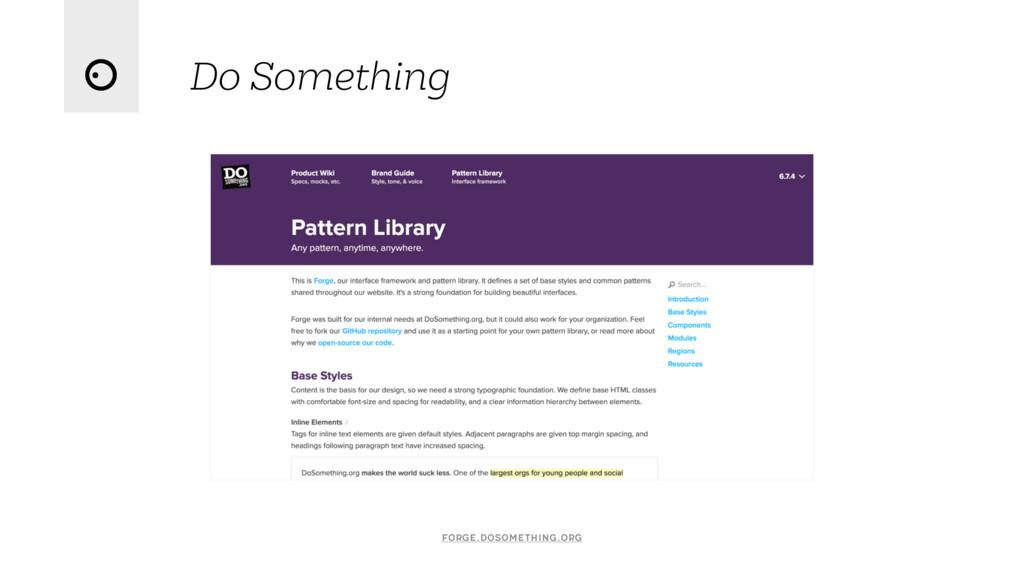 Do Something forge.dosomething.org