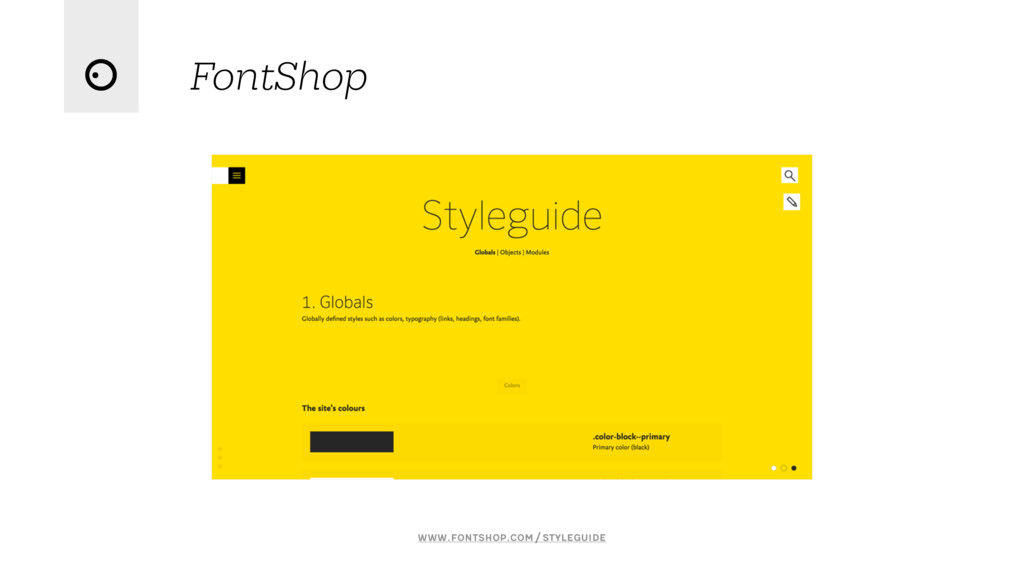 FontShop www.fontshop.com/styleguide