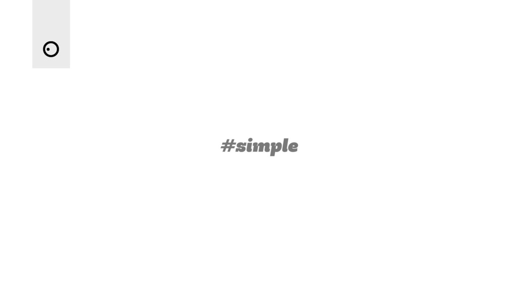 #simple