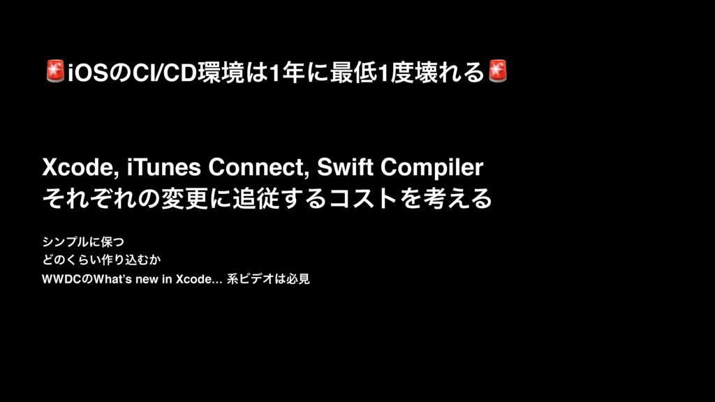 iOSͷCI/CDڥ1ʹ࠷1յΕΔ Xcode, iTunes Connect, S...