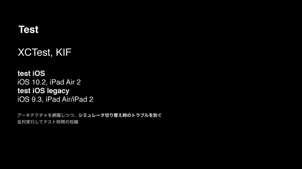 Test test iOS iOS 10.2, iPad Air 2 test iOS leg...