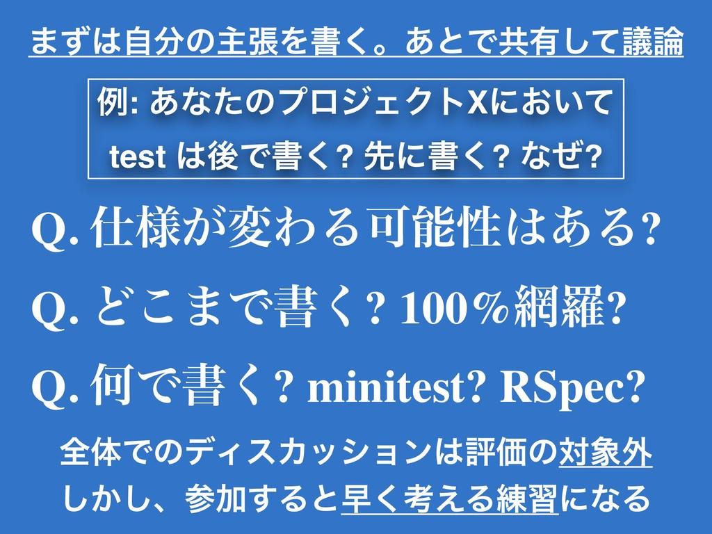 Q. ༷͕มΘΔՄੑ͋Δ? Q. Ͳ͜·Ͱॻ͘? 100%ཏ? Q. ԿͰॻ͘? mi...