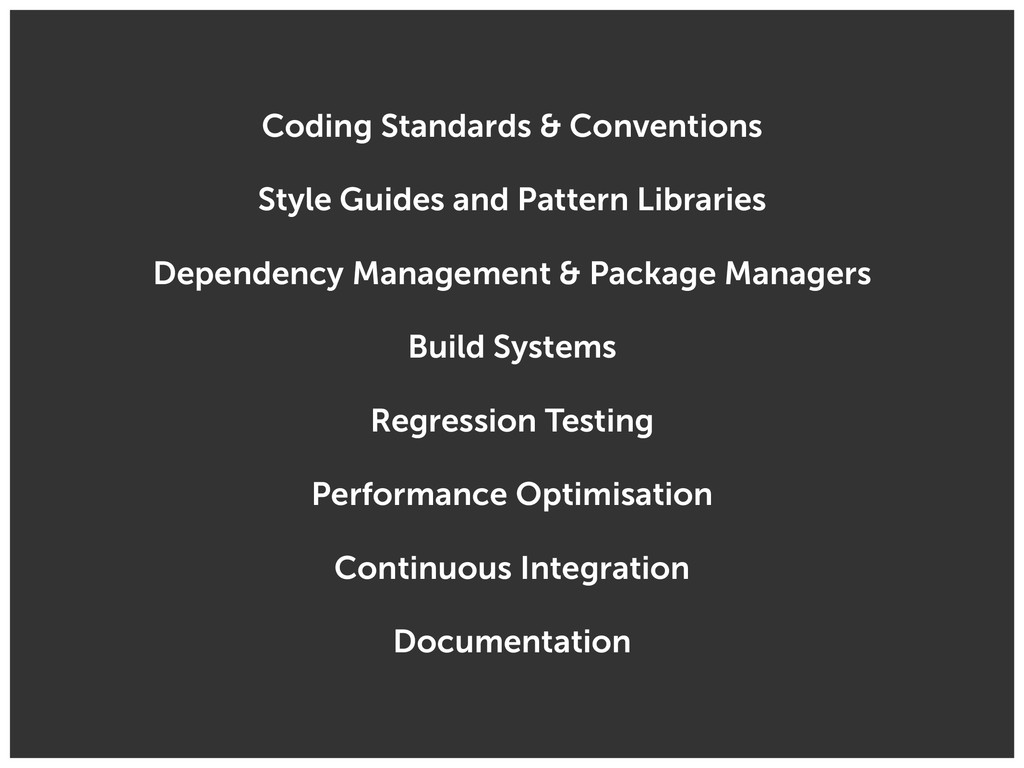 Coding Standards & Conventions Style Guides and...