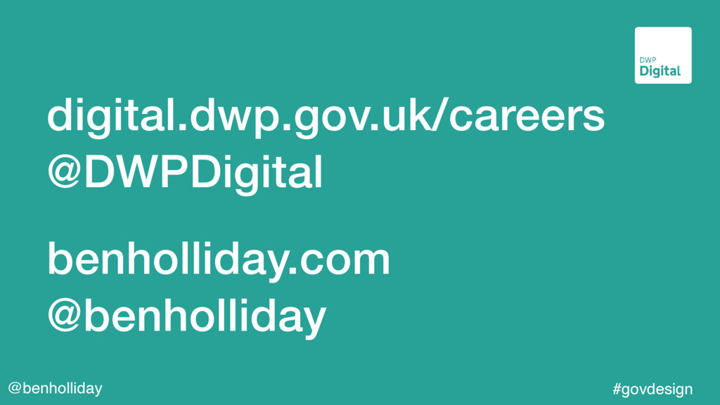 @benholliday #govdesign digital.dwp.gov.uk/care...